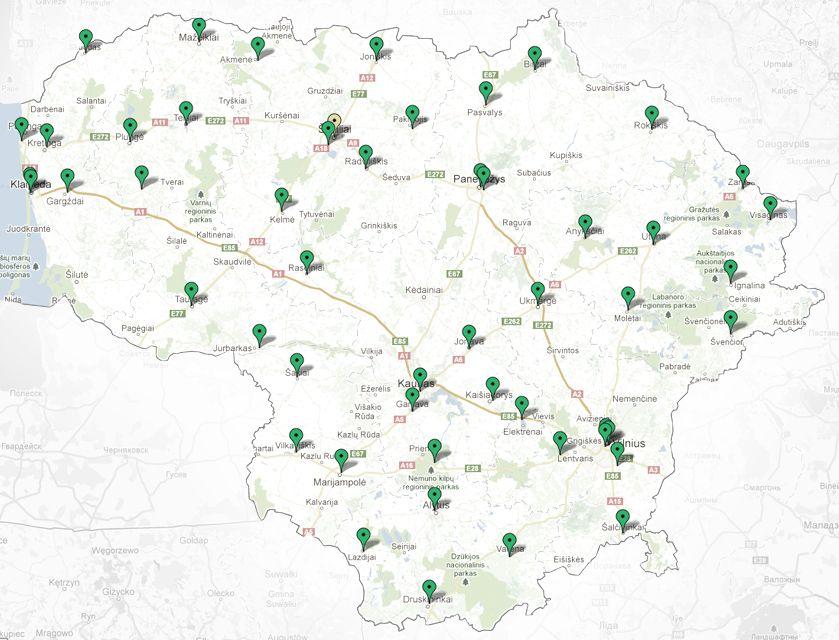 55 Lietuvos viešųjų bibliotekų interneto svetainių sukūrimas ir  pritaikymas neįgaliųjų pasiekiamumui ir mobiliesiems įrenginiams